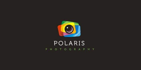 Logo concept for Polaris Photography.