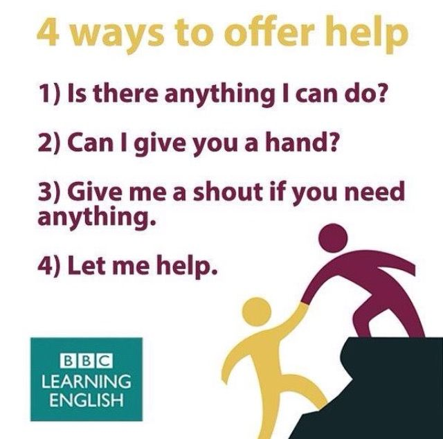 4 ways to offer help