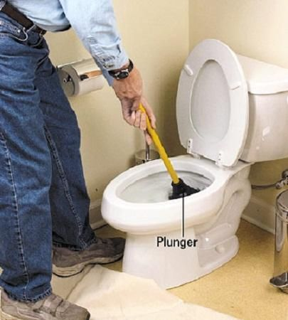 How To Fix A Clogged Toilet Using Plunger ~ http://lanewstalk.com/tips-of-how-to-fix-a-clogged-toilet/