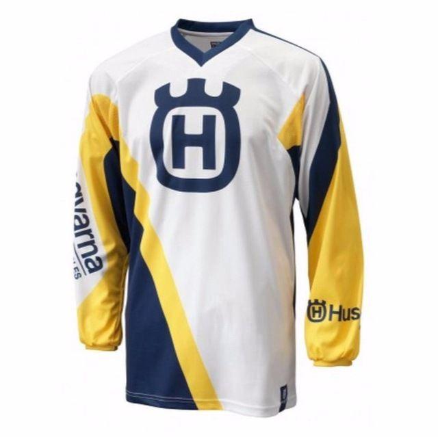 2017 Husqvarna Husky MX Motocross Racing nueva Jersey Bicicleta Ciclismo Jersey Mountain Bike DH MTB Camisas Camiseta