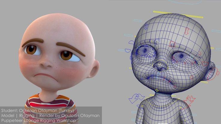 "CGI 3D Showreels HD: ""Character Rigging Showreel "" by Ogulcan Tayman"