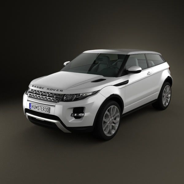 Range-Rover Evoque 2011 3d model from humster3d.com. Price: $75