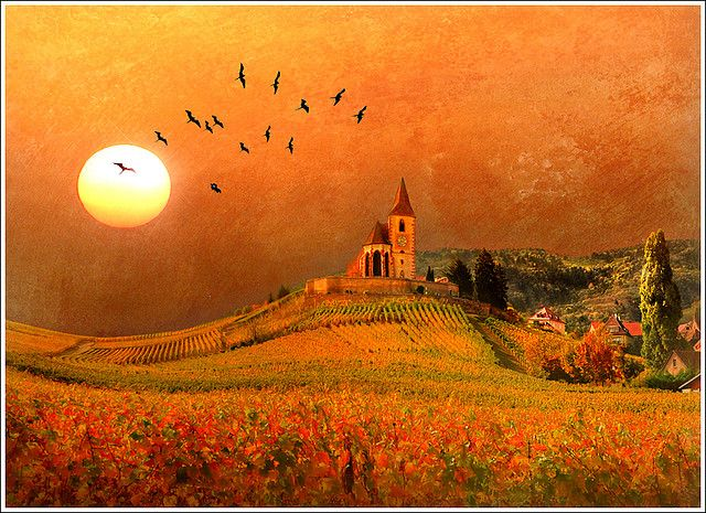 Once upon a time...    Alsace - France