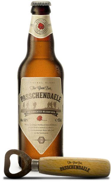 Cerveja Passchendaele, estilo Belgian Pale Ale, produzida por Brouwerij Van Honsebrouck, Bélgica. 5.2% ABV de álcool.