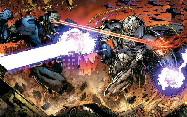 Darkseid battles the Anti-Monitor