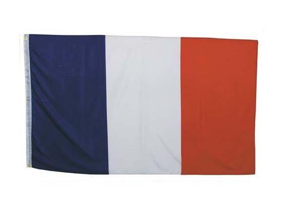 MFH Fahne, Frankreich 90 x 150 / mehr Infos auf: www.Guntia-Militaria-Shop.de