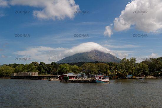 Moyogalpa und Vulkan Concepción, Nicaragua
