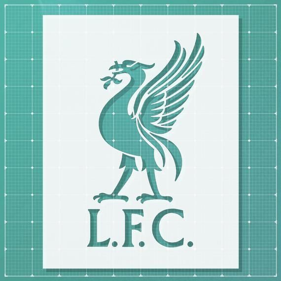 Liverpool Stencil 14x11 10x8 6x4 5x3 Mylar Plastic Sheet Reusable Liverpool Stencil 14x11 10x8 6x4 5x3 Mylar In 2020 Plastic Sheets Art Logo Spray Paint Artist