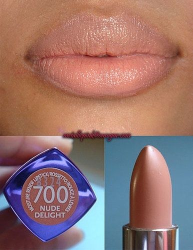 Rimmel nude delight. Though I don't want to look like I had implants.