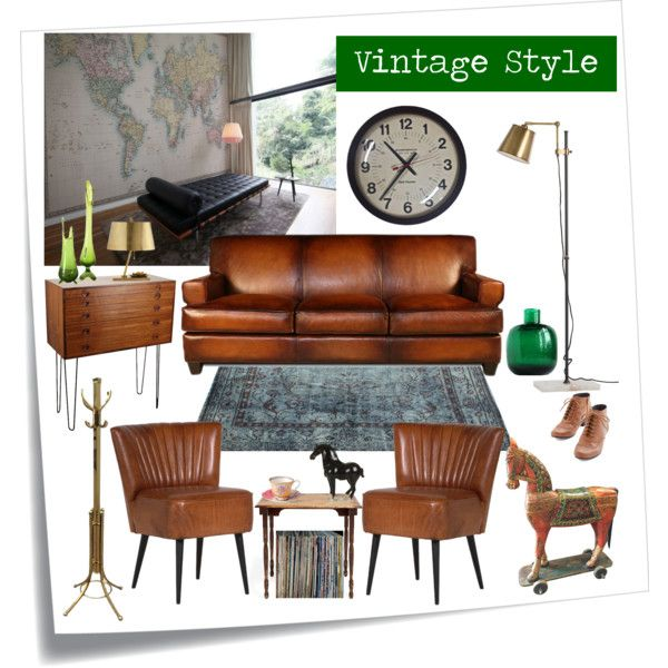 Vintage Style Interior by pixers