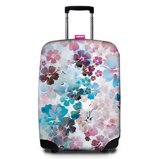 Чехол для чемодана SuitSuit  / Beach Flower