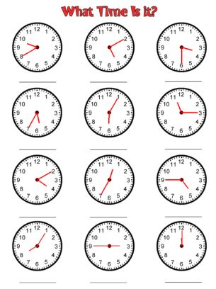 clock time worksheets free printable worksheets worksheets telling time math tutor. Black Bedroom Furniture Sets. Home Design Ideas