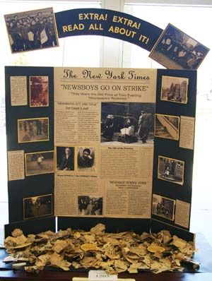 History Day display