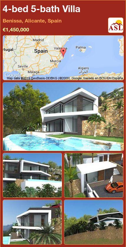 4-bed 5-bath Villa in Benissa, Alicante, Spain ►€1,450,000 #PropertyForSaleInSpain