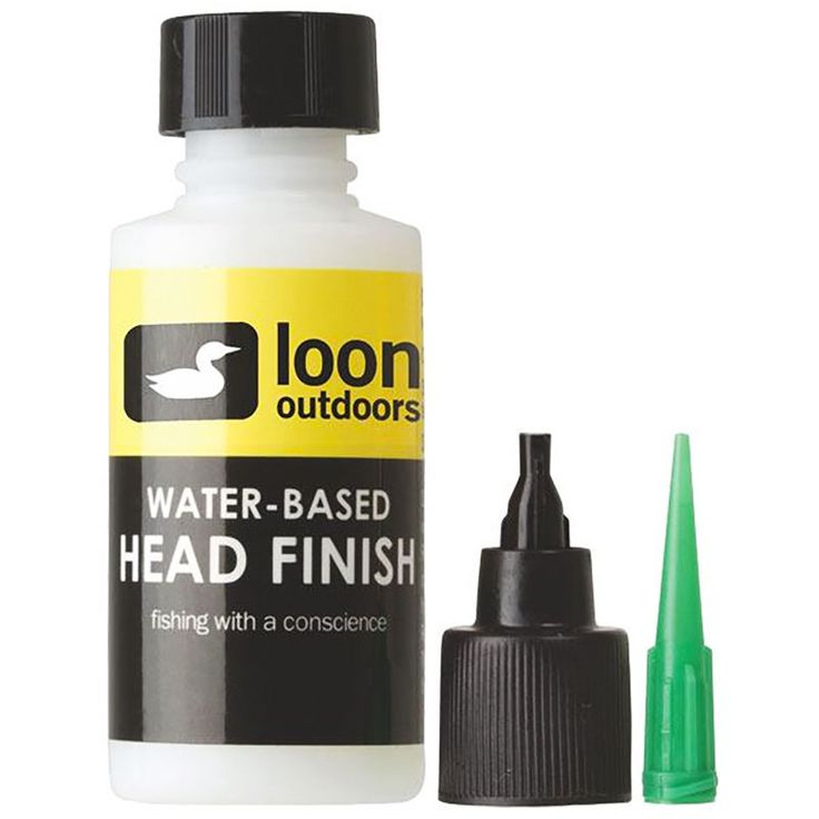 Loon Outdoors WATER-BASED HEAD FINISH SYSTEM - MEDIUM THICK FORMULA Fly Tying #flytying #flyfishing #loonoutdoors