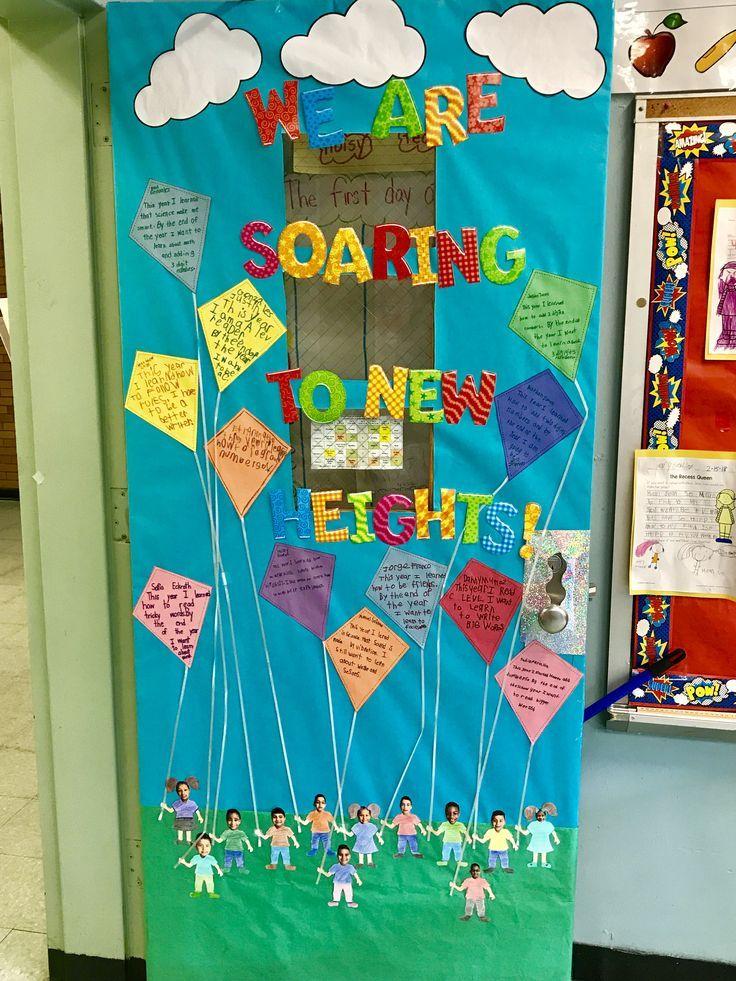 Spring Summer Classroom Door Door Decorations Classroom Spring