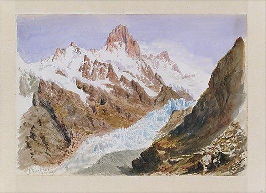 """""""Splendid Mountain Watercolours"""" Sketchbook"""