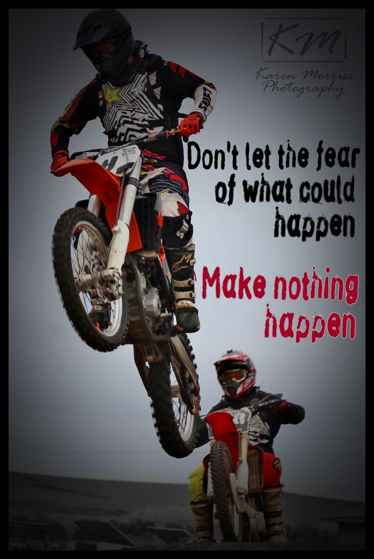 Seth - Motocross Quote
