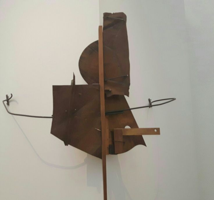 Controrilievo. 1915. Tretjakov Gallery