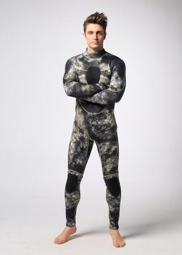 Camouflage Diving Wetsuit - 3mm