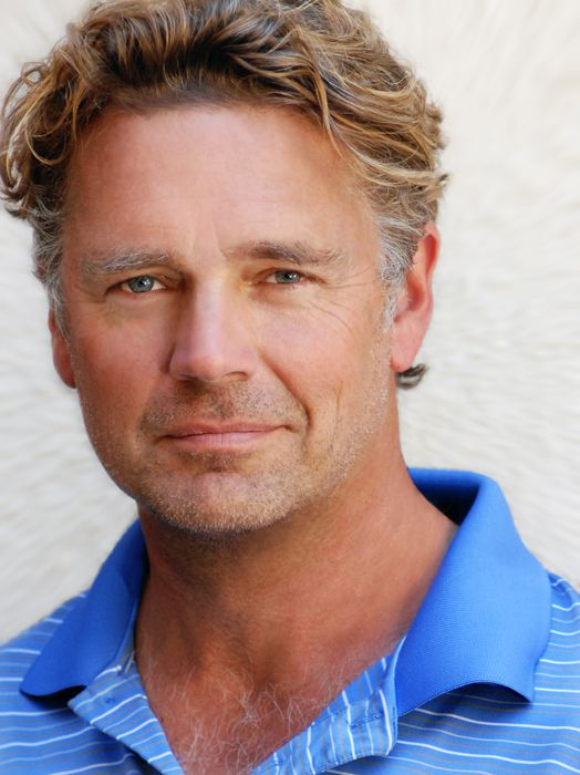 Hey handsome. Where've you been all these years? - John Schneider