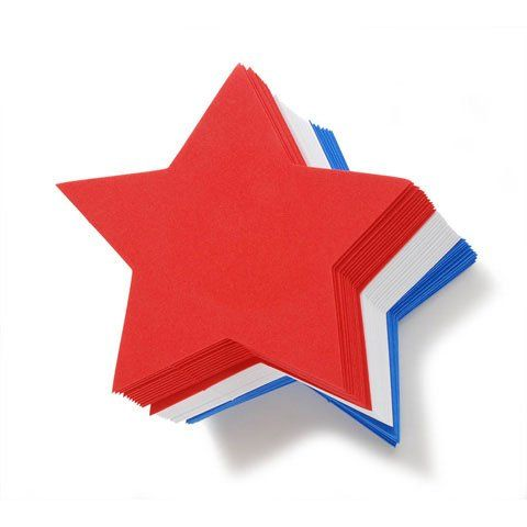 Bulk Buy: Darice Foamies Bases Stars Red, White, Blue 6 inches 36 pieces (3-Pack) 106-1474 -- Visit the image link more details.
