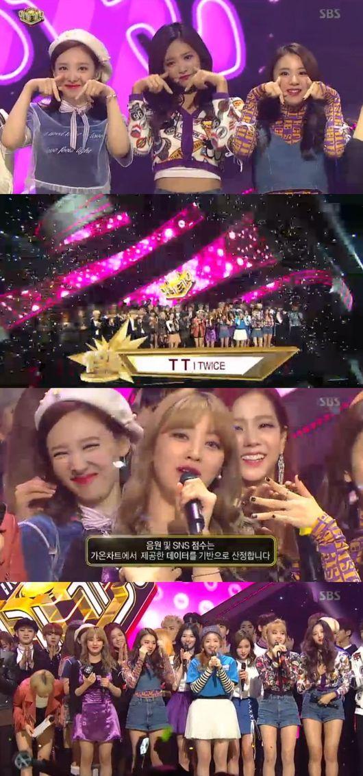 「TWICE」、「人気歌謡」でも1位…音楽番組で5冠達成-韓国音楽(k-pop)
