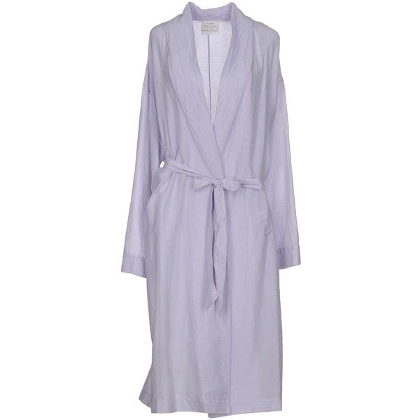 Forte-forte Overcoat (395 CAD) ❤ liked on Polyvore featuring outerwear, coats, lilac, leather-sleeve coats, over coat, forte forte, cotton coat and single-breasted trench coats