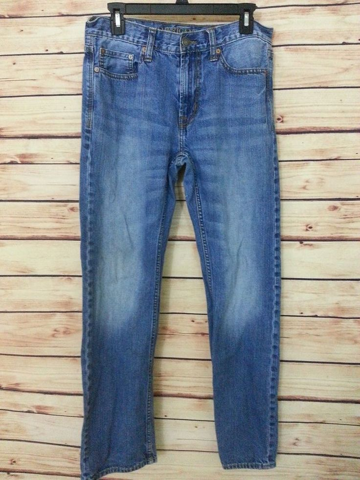 American Eagle Outfitters jeans original straight mens size 30 X 31 medium wash #AmericanEagleOutfitters #ClassicStraightLeg