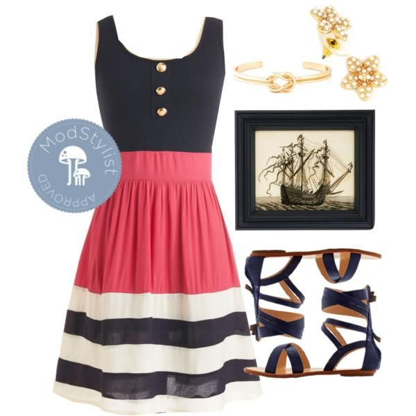 Best 25+ Nautical theme outfit ideas on Pinterest | Nautical fashion Nautical photo shoots and ...