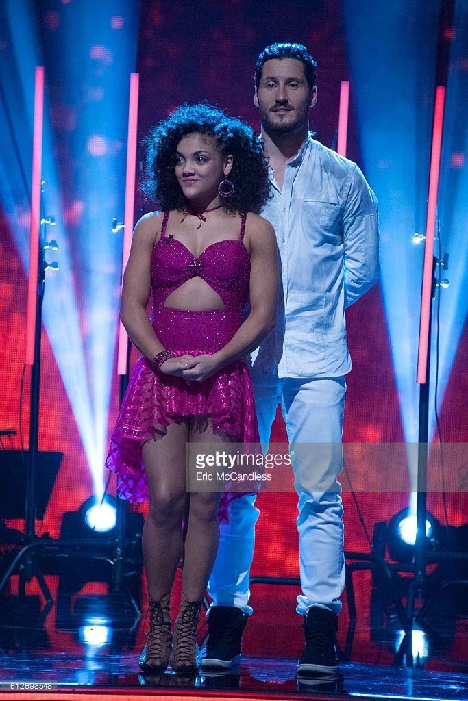 Laurie Hernandez and Val Chmerkovskiy - The third elimination of the season will take place on 'Dancing with the Stars: The Results,' live, TUESDAY, OCTOBER 4 (8:00-9:00 p.m. EDT), on the ABC Television Network.
