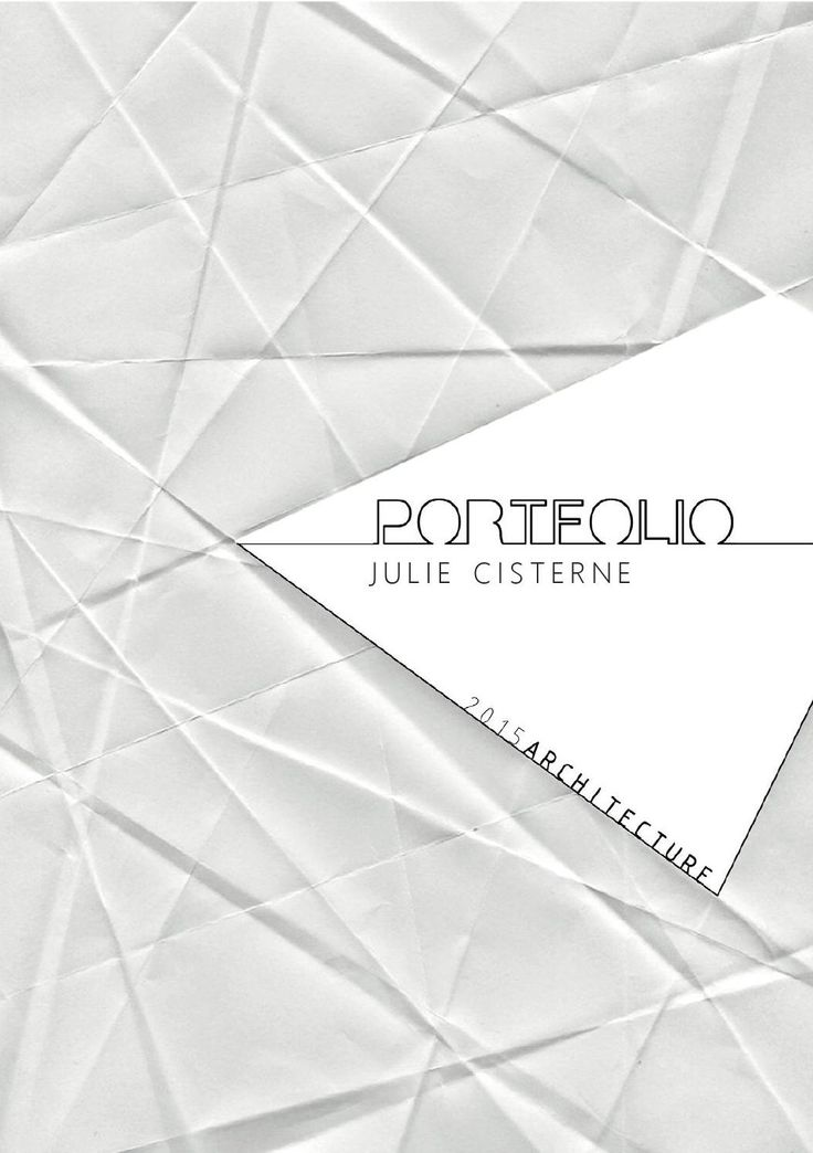 #ClippedOnIssuu from Julie Cisterne Portfolio 2015