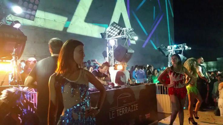 """DJ Maurizio Molella alle """"Le Terrazze di Roma"""" 28/07/2017 Lupi Solitari ..."""