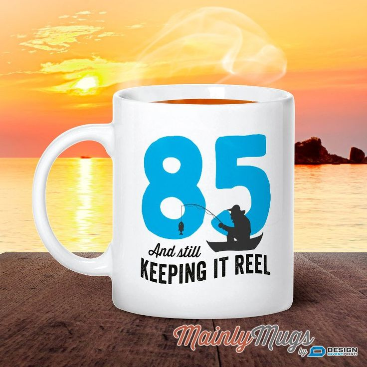 85th Birthday, 1932 Birthday, Fishing Birthday, 85th Birthday Gift, 85th Birthday Idea, Happy Birthday, 85th Birthday Gift for 85 year old