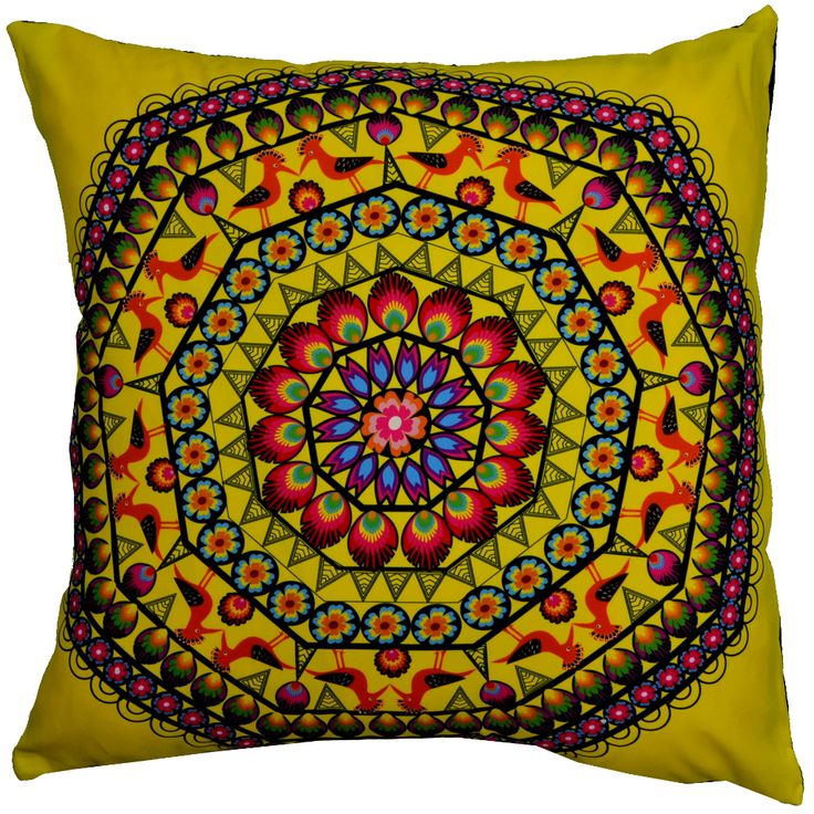 Designer decorative Folk pillow № gd409