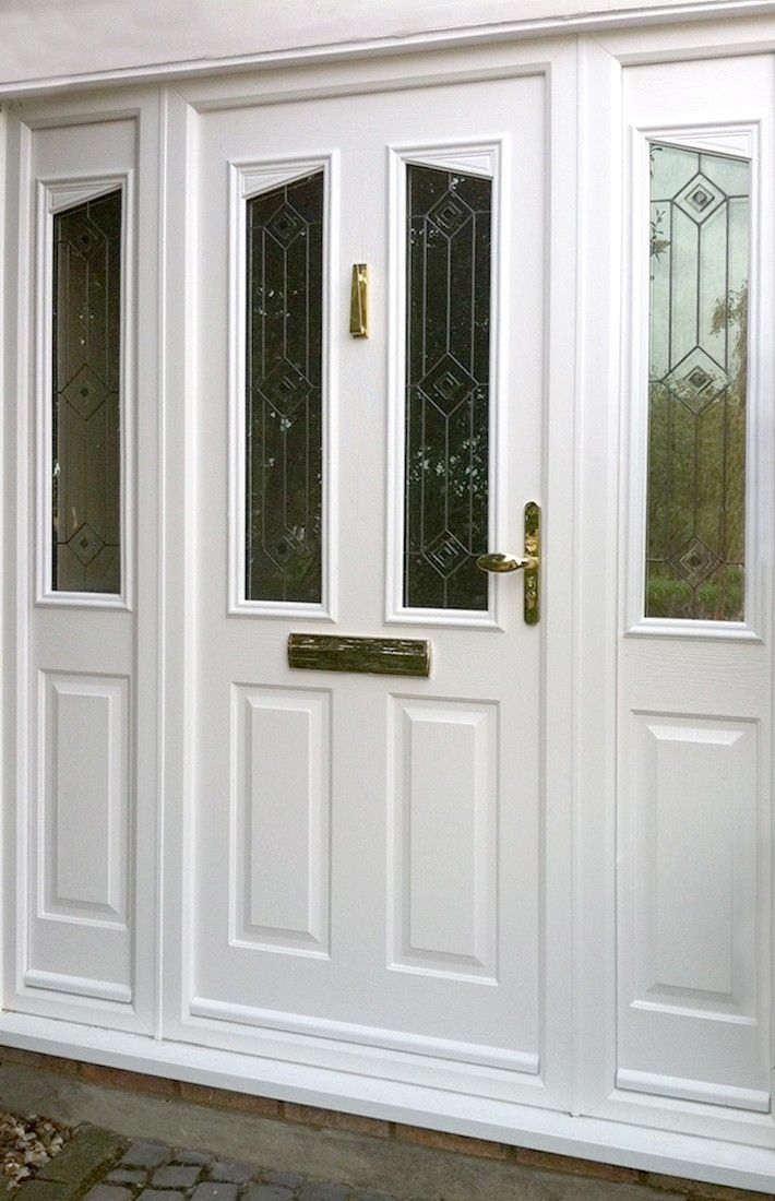 81 best images about l shades of white paint colours l on for Front door and side panel