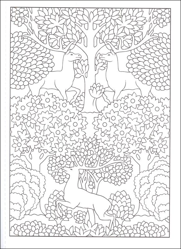 glass deco colouring pages page