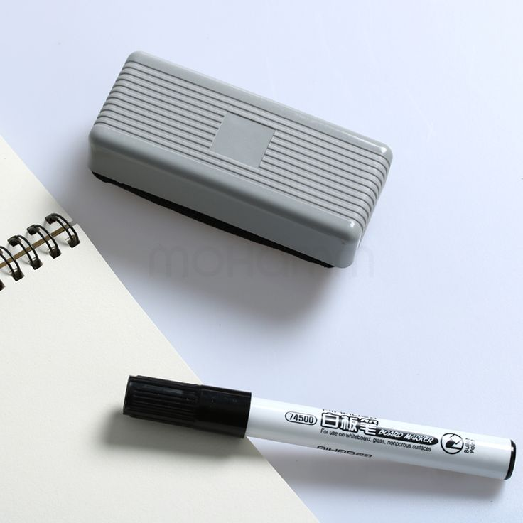 Whiteboard Gummen Droge Wissen Marker Wit Board Cleaner Wisser Doekjes School Kantoor Accessoires Benodigdheden