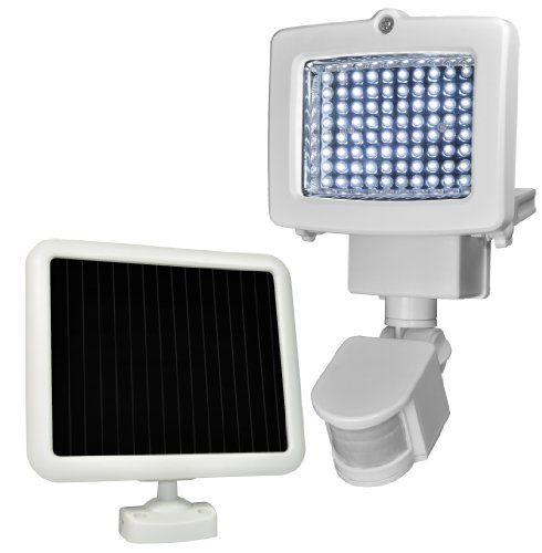 Sunforce 82080 80-LED Solar Motion Light. Provide lighting and security to your garage, pathway, shed or remote cottage anywhere, anytime. Use the power of the sun to light dark areas and add extra security with the Sunforce 80 LED Solar Motion Security Light.