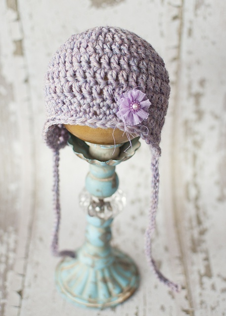 Double Crochet Hat Pattern With Ear Flaps : Amelia Hat with Ties DC pattern by Salena Baca Double ...