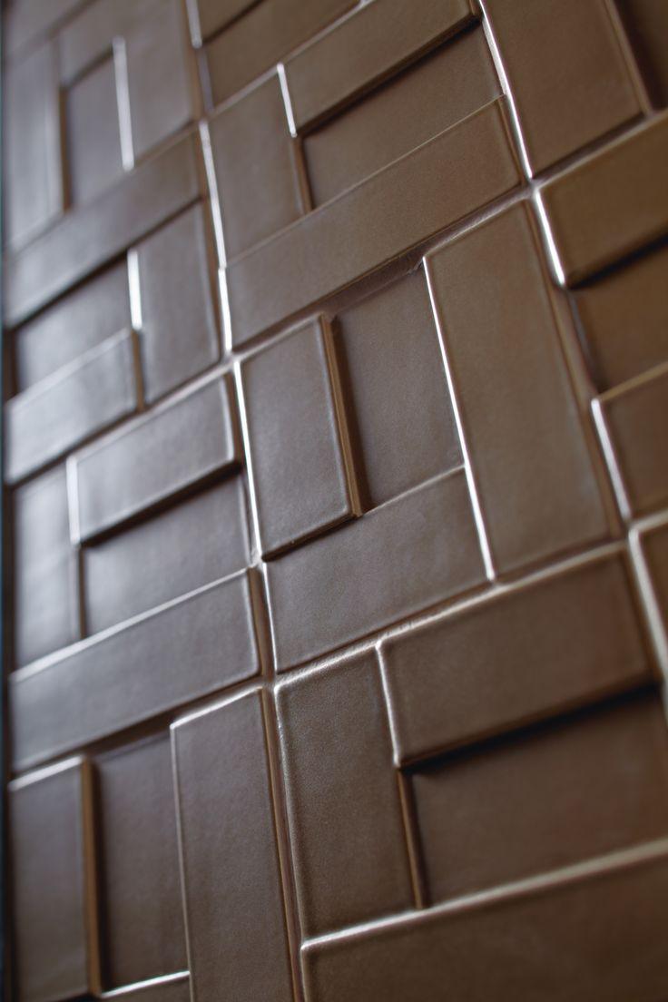 ANN SACKS Clodagh Core blocks ceramic field in silkstone