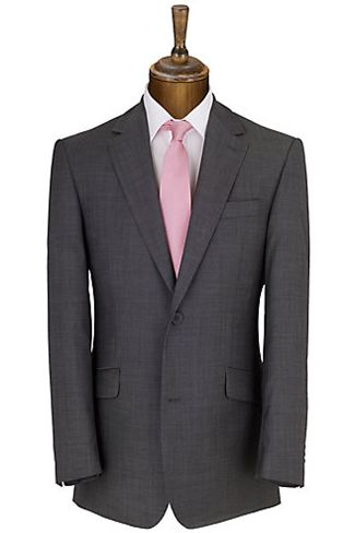 Daniel Hechter Plain Organic Wool Suit, Charcoal Groomswear Suit Ideas | Wedding Suits For A Groom