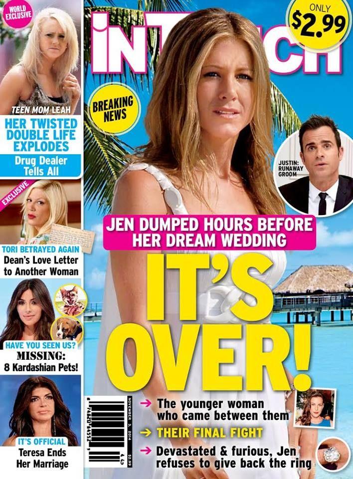 Jennifer Aniston posa de topless para a revista Allure