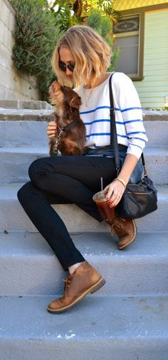 clarks desert boot jeans women - Google Search                              …