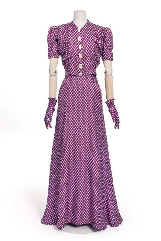 Elsa Schiaparelli, robe, 1939   Les Arts décoratifs