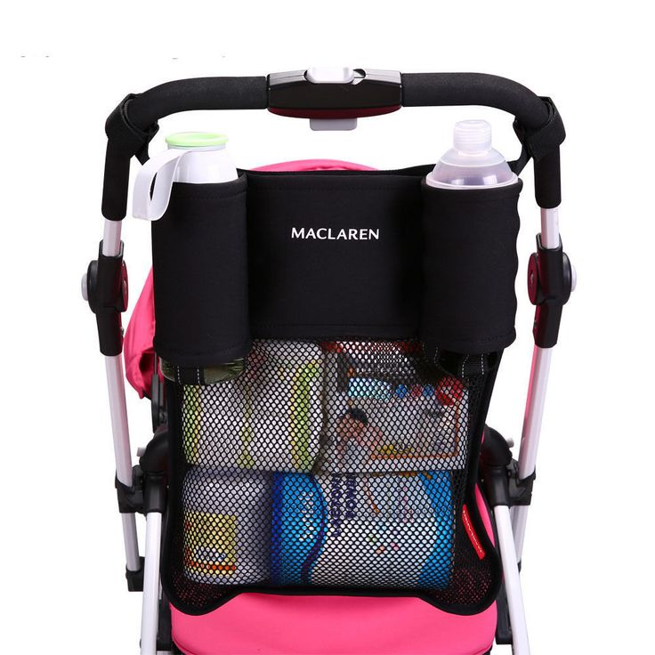 Baby Stroller Cup Holder Bag Pushchair Hanging Bottle Diaper For Wheelchairs | eBay