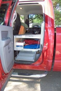 Building A Combination RV Cabinet, RV Dog Deck Improves The RV Storage And  Utility Of Our Truck Amazing Ideas