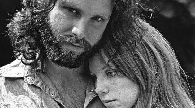 Historias de pasión, locura y muerte : Jim Morrison y Pamela Courson
