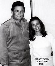 Johnny Cash and June Carter 1968