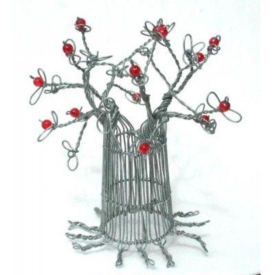 Wire Baobab Tree Handmade Artwork